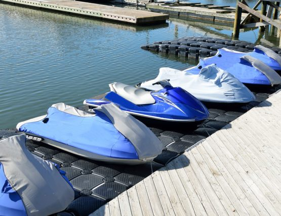 trade in your sea doo or jetski today to get a new model from Jolly Roger Marina