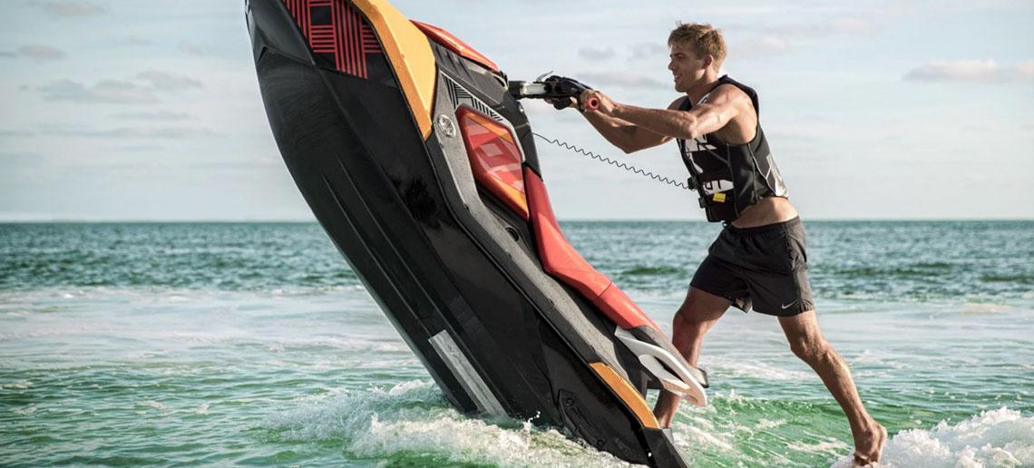 purchase the 2019 seadoo spark trixx at jolly roger marina in nj