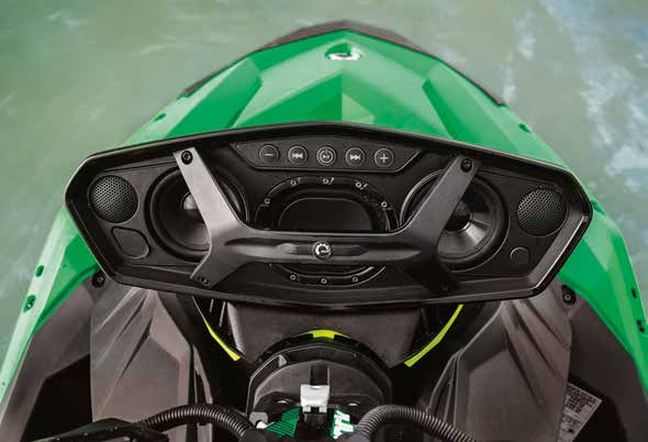 2109 seadoo feature BRP Audio-Portable System (Optional)