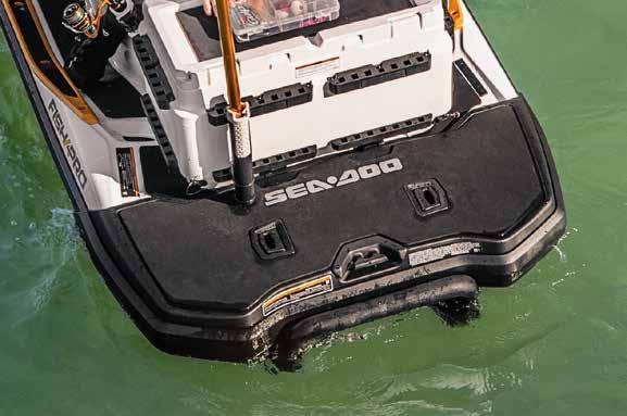 Extended Rear Facing >> Sea Doo Fish Pro 155 - Personal Watercraft Fishing   Jolly ...