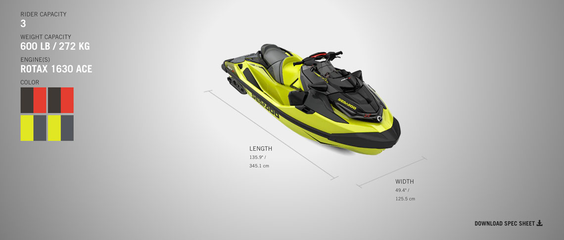 sea doo rxt-x 300 2019 at jolly roger marina