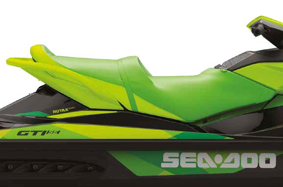 touring seat on the gti se 130 seadoo
