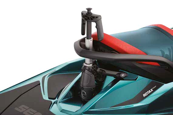 2019 sea-doo feature wake 155 retractable ski pylon