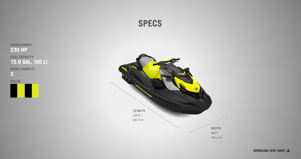 2020 sea doo gtr specs from jolly roger marina in nj