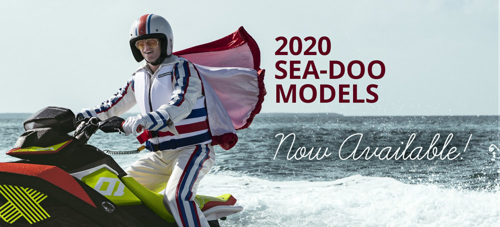 buy a 2020 seadoo model from Jolly Roger Marina NJ