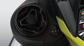 BRP Audio - premium system (optional)