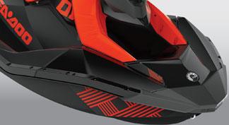 2021 seadoo Exclusive TRIXX™ coloration feature