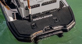 seadoo fish pro 2021 extended rear platform