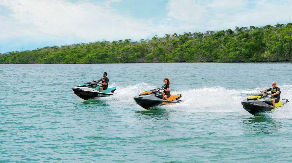 order a 2021 gtr 230 sea doo from jolly roger marina