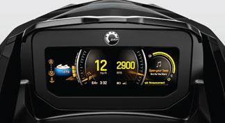 2021 seadoo feature LCD Display