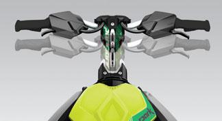 2021 seadoo feature Handlebar with Adjustable Riser